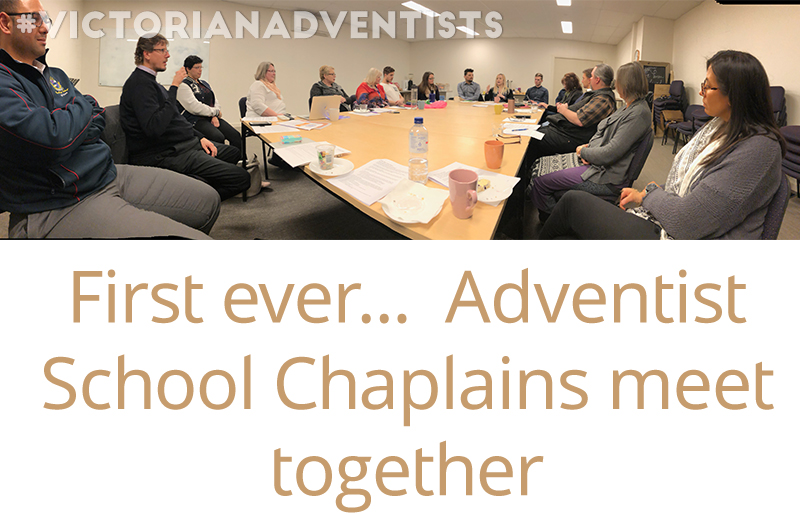 An inaugural event for chaplains…