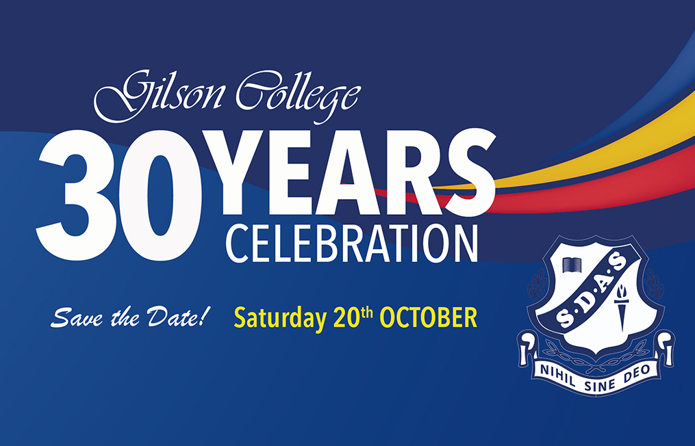 Gilson College 30 Year Celebrations