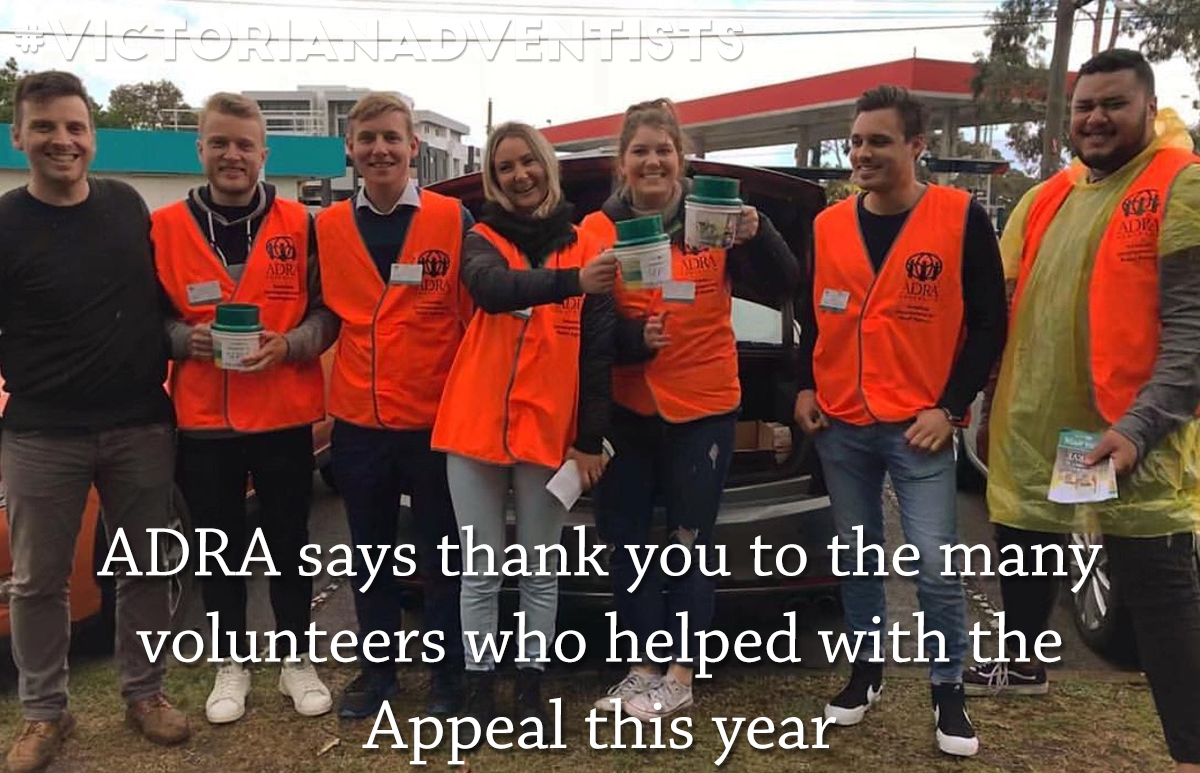 October Appeal Thank You